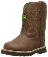 John Deere Inf Drk Chestnut PO Pull-On Boot