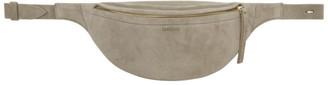 Nanushka Taupe Suede Lubo Belt Bag