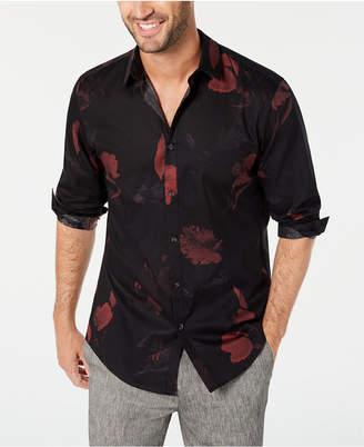 INC International Concepts Inc Men Dark Foliage Shirt