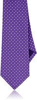 Ralph Lauren Purple Label MEN'S POLKA DOT SILK NECKTIE