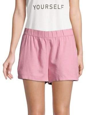 Vero Moda Linen Blend Pull-On Shorts