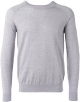 Closed round neck jumper - men - Virgin Wool - M