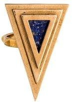 Pamela Love Lapis Lazuli Pyramid Ring