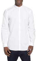 Zanerobe Seven Ft Tuck Collar Elongated Woven Shirt