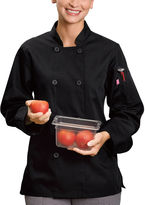 White Swan 5 Star Chef Apparel Womens Long Sleeve Chef Coat