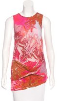 McQ Printed Sleeveless Top