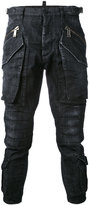 DSQUARED2 cropped cargo jeans