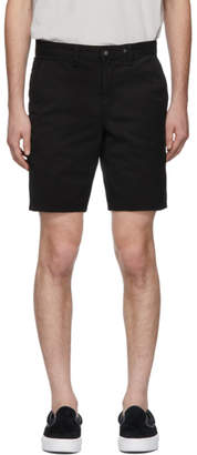 Rag & Bone Black Chino Shorts