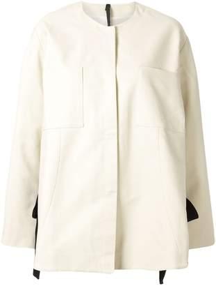 Sara Lanzi oversized split jacket