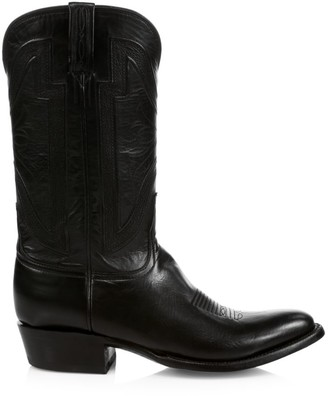 Lucchese Collins Western Leather Boots