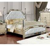 Kahler Upholstered Four Poster Bed Mercer41 Size: California King