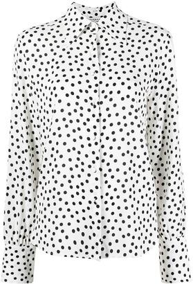 Philosophy di Lorenzo Serafini Polka-Dot Print Shirt
