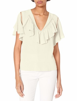 Plenty by Tracy Reese Women's Flounded Blouse