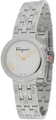 Salvatore Ferragamo Watches Signature stainless steel watch