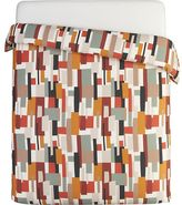 Crate & Barrel Donovan King Duvet Cover