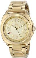 Tommy Hilfiger Women's 1781340 Analog Display Quartz Gold Watch