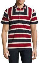 Paul Smith Multi-Colored Striped Polo