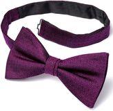 Charles Tyrwhitt Fuchsia Silk Ready-Tied Bow Tie