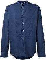 Massimo Alba collarless shirt