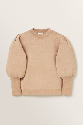 Seed Heritage Puff Sleeve Sweater