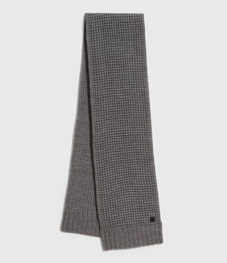 AllSaints Thermal Wool Blend Scarf