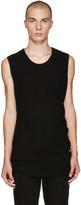 Niløs Black Sleeveless T-shirt