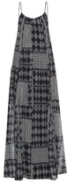 Velvet by Graham & Spencer Mali geometric-print maxi dress