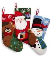 "Holiday Lane 20"" Loop Stocking - Snowman"