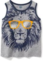 Old Navy Lion Graphic Tank for Toddler