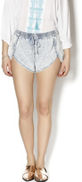 Finders Keepers Chambray Denim Shorts