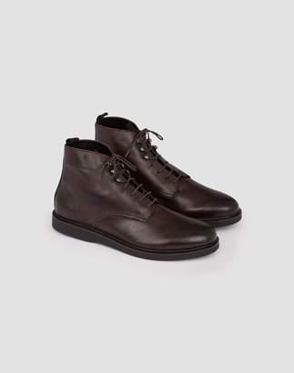 Hudson Battle Boots Brown