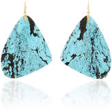 Annette Ferdinandsen M'O Exclusive: One-Of-A-Kind Large Turquoise Tropical Wing Earring