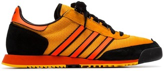 adidas orange x Spezial SL80 low-top sneakers