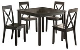 ACME Furniture 5 Piece Zlipury Dining Set Wood/Black - Acme
