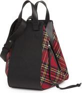 Loewe Hammock tartan leather bag