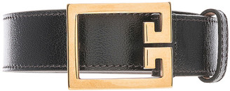 Givenchy Logo Belt in Black | FWRD
