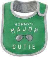 Carter's Baby Boy Family Slogan Bib