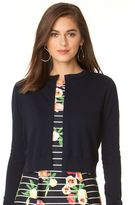 Chaps Women's Crop Cardigan