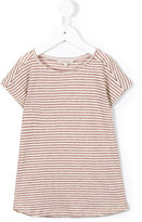 Caramel Avocado stripe T-shirt - kids - Cotton/Linen/Flax - 8 yrs