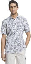 Van Heusen Men's Polynesian Casual Button-Down Shirt