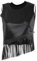 Numero 00 Numero00 Women's Black Cotton Top.