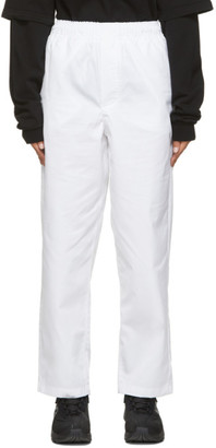 GR10K White Klopman Capital Trousers
