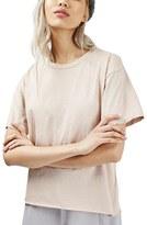 Topshop Women's Distressed Edge Tee