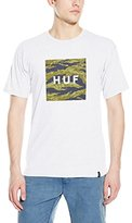 HUF Men's Tiger Camo Box Logo T-Shirt