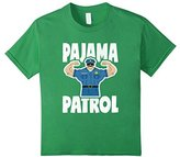 Pajama Patrol Muscle Police Officer Bed Time PJ T-Shirt