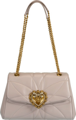 Dolce & Gabbana Devotion Medium Flap Bag