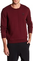 Converse Quilted Long Sleeve Sweater