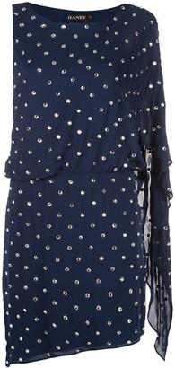 HANEY Lucia embellished mini dress