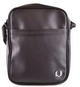 Fred Perry Men's Black Polyester Messenger Bag.