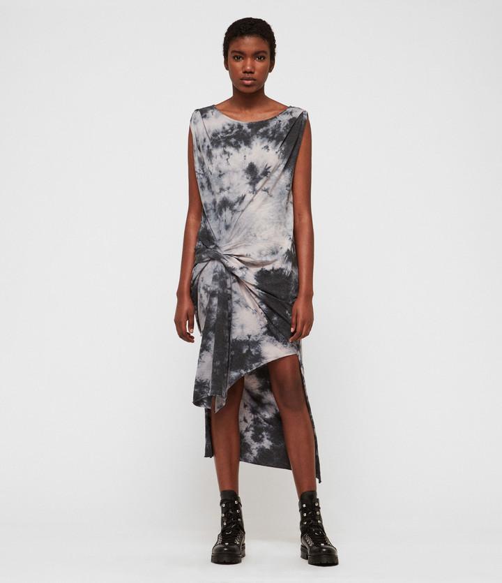 AllSaints Dyetie Riviera Dress
